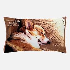 Cute Pembroke welsh corgi Pillow Case