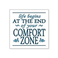 Comfort Zone Sticker