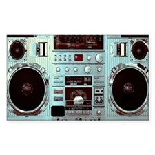 Digital Boom Box Decal