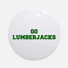 Lumberjacks-Fre dgreen Ornament (Round)
