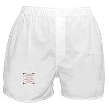 Einstein on Miracles Boxer Shorts