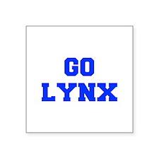 Lynx-Fre blue Sticker