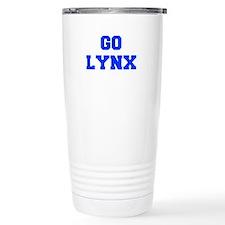 Lynx-Fre blue Travel Mug