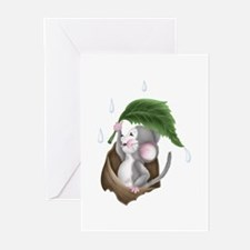 GREY MOUSE Greeting Cards (Pk of 10)
