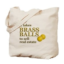 Brass Balls Tote Bag