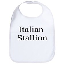 Italian Stallion Bib