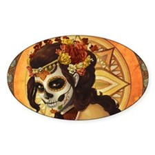 Sugar Skull 002 Decal