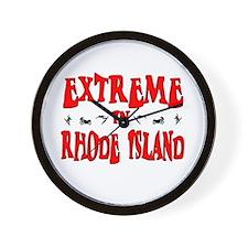Extreme Rhode Island Wall Clock