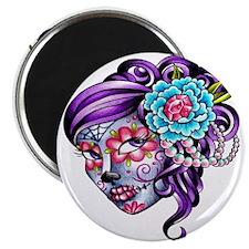 Sugar Skull 039 Magnets