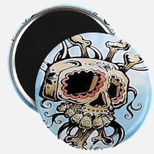 Sugar Skull 004 Magnets