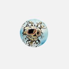 Sugar Skull 004 Mini Button