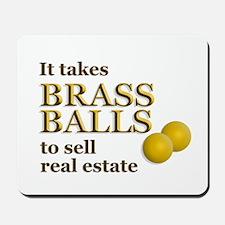 Brass Balls Mousepad