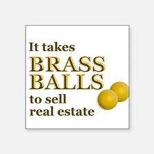 Brass Balls Sticker