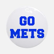 mets-Fre blue Ornament (Round)