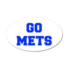 mets-Fre blue Wall Decal