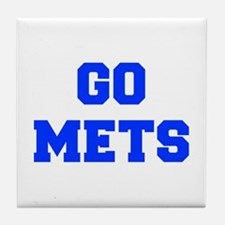 mets-Fre blue Tile Coaster