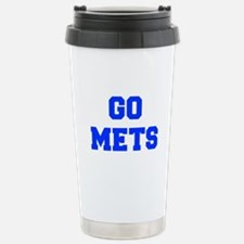 mets-Fre blue Travel Mug