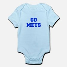 mets-Fre blue Body Suit