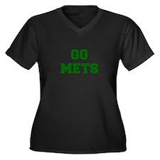 mets-Fre dgreen Plus Size T-Shirt