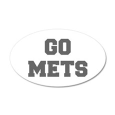 METS-Fre gray Wall Decal