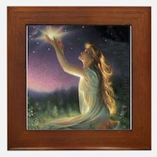 Wishes Amongst The Stars Framed Tile