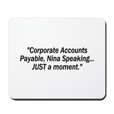 ::: JUST a moment ::: Mousepad
