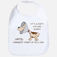 dog cone larry font 2.png Bib