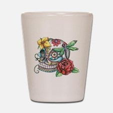 Sugar Skull 069 Shot Glass