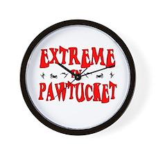 Extreme Pawtucket Wall Clock
