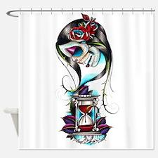 Sugar Skull 010 Shower Curtain