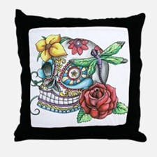 Sugar Skull 069 Throw Pillow