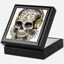 Sugar Skull 008 Keepsake Box