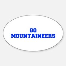 Mountaineers-Fre blue Decal