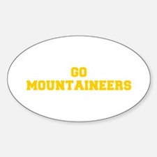 Mountaineers-Fre yellow gold Decal