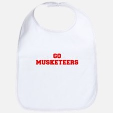 MUSKETEERS-Fre red Bib