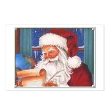 Santa's List Postcards (Package of 8)