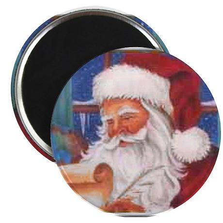 """Santa's List 2.25"""" Magnet (10 pack)"""