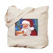 Santa's List Tote Bag