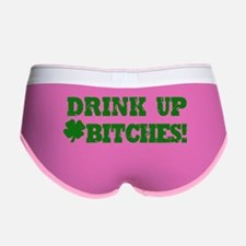 Drink Up Bitches St. Patricks Da Women's Boy Brief