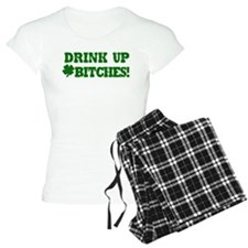 Drink Up Bitches St. Patric Pajamas