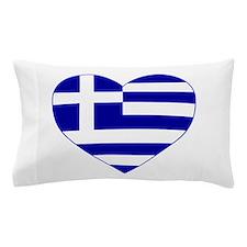 Greece Heart Pillow Case