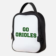 orioles-Fre dgreen Neoprene Lunch Bag