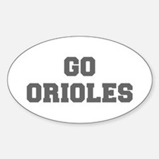 ORIOLES-Fre gray Decal