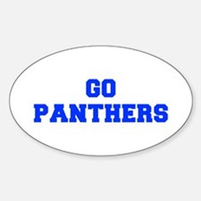 Panthers-Fre blue Decal