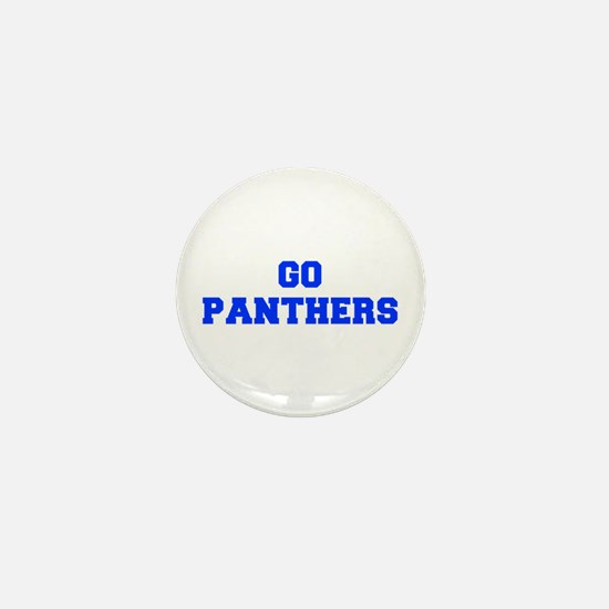 Panthers-Fre blue Mini Button