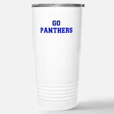 Panthers-Fre blue Travel Mug