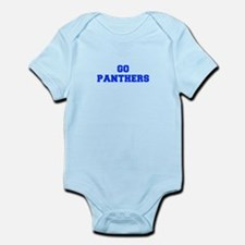 Panthers-Fre blue Body Suit