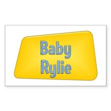 Baby Rylie Rectangle Decal