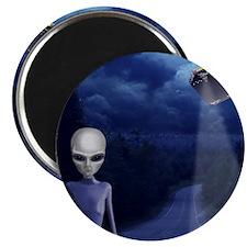 Alien Nightwatch Magnet (more close)