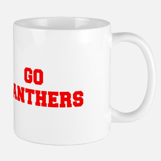 PANTHERS-Fre red Mugs